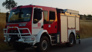 Евакуираха благоевградско село заради пожар