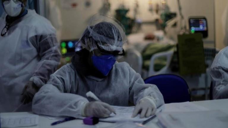 Бразилските здравни власти съобщиха, че броят на новорегистрираните коронавирусни инфекции