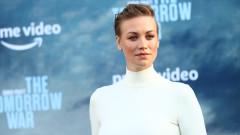 Актрисата, която обяви, че е бременна на премиерата на филма си