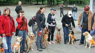 Представиха 20 кучета-водачи в Борисовата градина