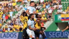 Без Меси: Аржентина вкара 6 гола на Еквадор