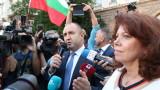 Възмутен от управлението, Радев излезе на протеста