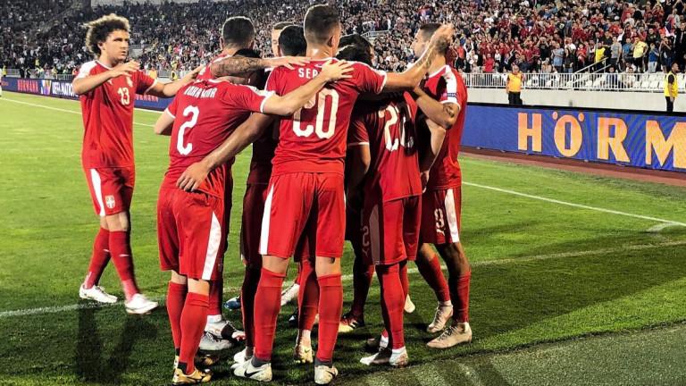 04e2826c75f Сърбия и Румъния си спретнаха страхотно балканско дерби с четири гола в  Белград (РЕЗУЛТАТИ в