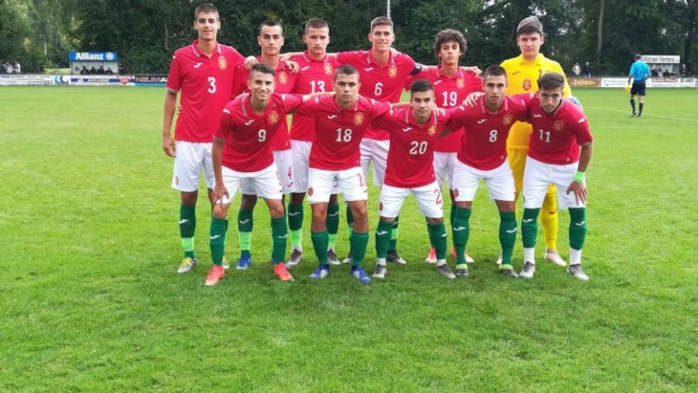 България U17 загуби минимално от гръцките си връстници в контрола
