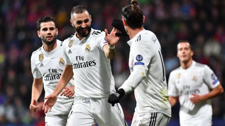 Реал (Мадрид) се развихри в Чехия
