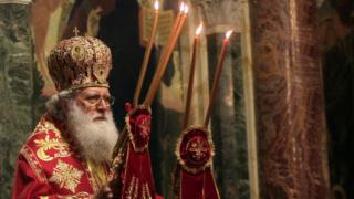 Патриархът на служба за св. Параскева