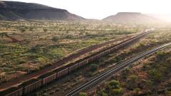 Rio Tinto превози руда с първия си влак робот на 280 км (ВИДЕО)