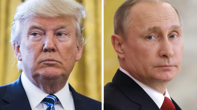 Ясен е дневният ред на срещата Тръмп - Путин