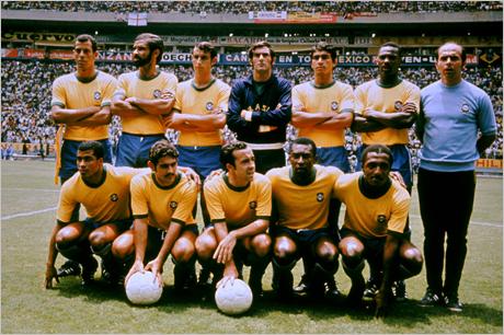 Бразилия от 1970-а най-велик отбор в историята