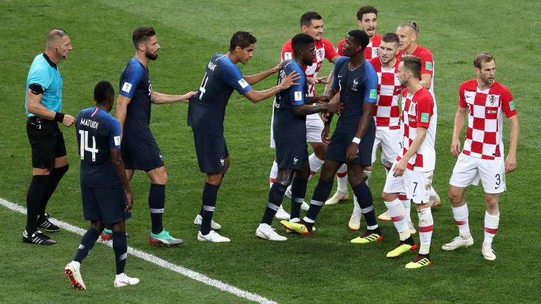 Франция 3 : 1 Хърватия 59′ ГОООЛ ЗА ФРАНЦИЯ!!! 3:1!!!