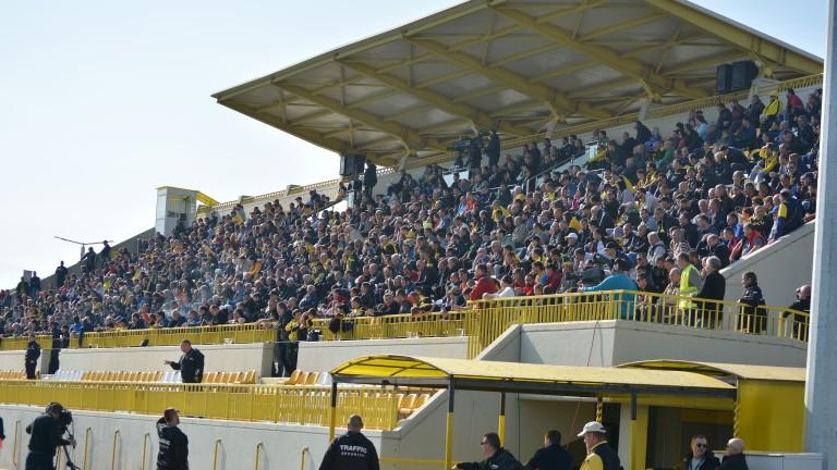 """Феновете на Ботев (Пд): """"Жълто-черната"""" армия трябва да превземе """"синята"""" крепост!"""