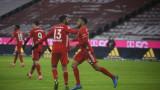 Байерн (Мюнхен) спаси точката в голов екшън срещу Арминия (Билефелд)
