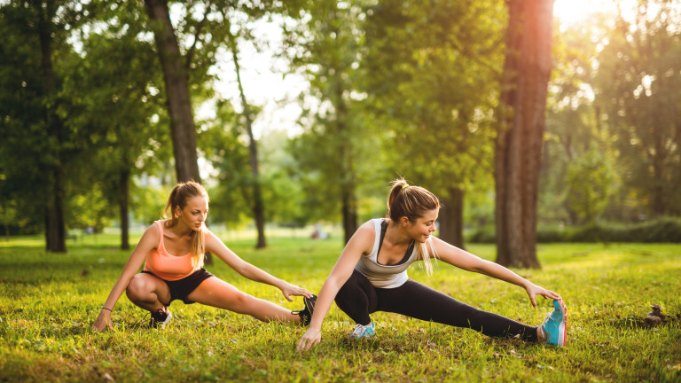 Почти толкова важно, колкото самотофизическото упражнение, разтягането трябва да слага