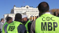 Без емоция полицаите отново на протест пред парламента