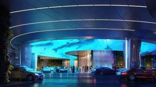 В Дубай отваря врати хотел със собствена тропическа гора и гигантски аквариум (СНИМКИ)
