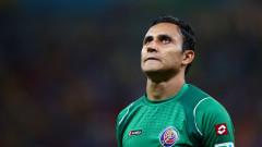 Кейлор Навас не взе участие в последната тренировка на Коста Рика