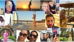 Фолк изпълнители избраха Арабските емирства за своята ваканция (СНИМКИ)