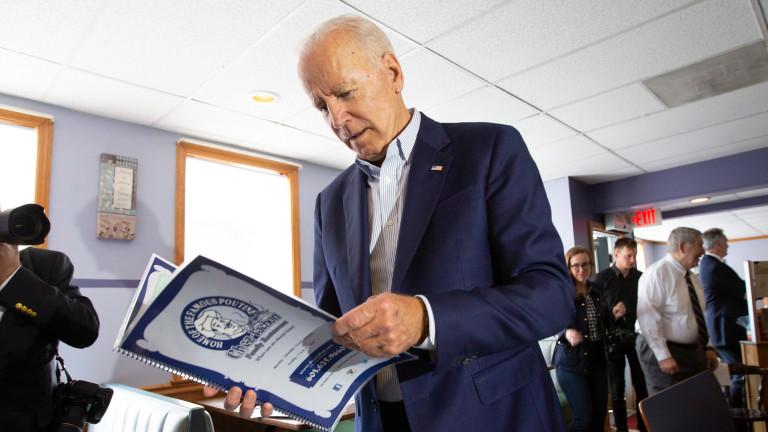 Бившият вицепрезидент на САЩ Джо Байдън е фаворит за кандидат