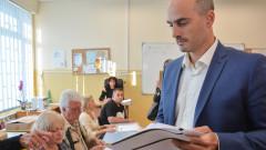 Борислав Игнатов гласува за нова скорост за София