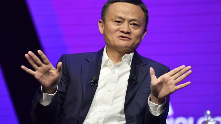 Най-богатият китаец Джак Ма напуска борда на SoftBank, съобщи Си