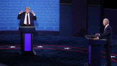 Без втори дебат между Тръмп и Байдън