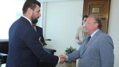 Светлан Стоев прие лидера на партията Граждански демократичен съюз от Северна Македония