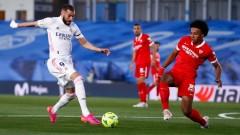 Драма до последния миг, четири гола, но без победител между Реал (Мадрид) и Севиля