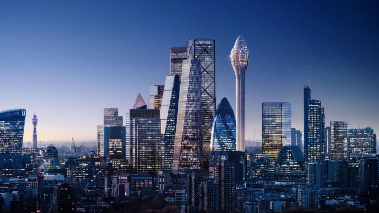 Британската столица Лондон е известна със своите небостъргачи, които са