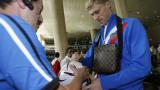 Спипаха руски футболист да шофира пиян