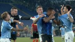 Лацио обърна Интер в люто италианско дерби на върха