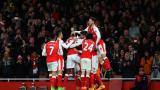 Нелеп автогол съхрани надеждите на Арсенал за Топ 4