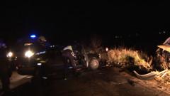 Един загинал при челен удар на стария път Пазарджик-Пловдив
