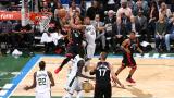 Торонто Раптърс победи Маями Хийт въпреки 35 точки на Дуен Уейд