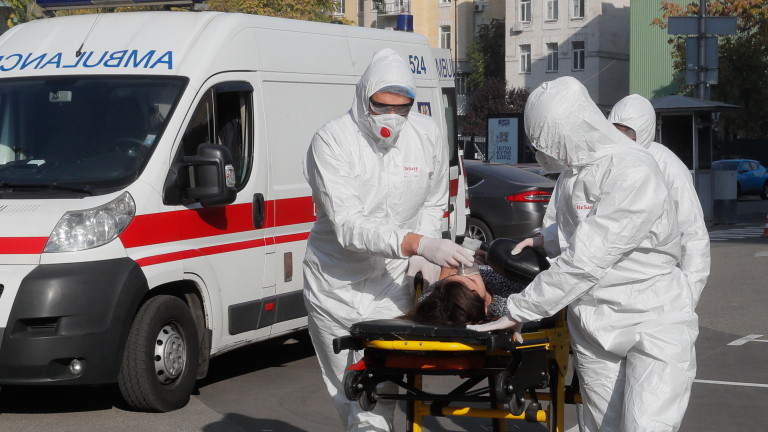 Украйна регистрира за втори пореден ден рекорден брой заразени и