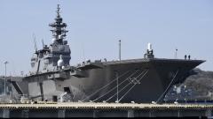 """Япония преоборудва кораба """"Изумо"""" в самолетоносач за стелт F-35B"""