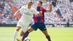 Реал (Мадрид) - Леванте 1:1, Лукас Васкес възстанови равенството