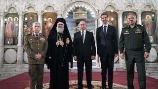 Путин и Асад хванати на видео да се смеят, подигравайки се с Тръмп