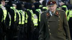 Ветерани от Латвийския легион на Вафен СС участваха в шествие в Рига