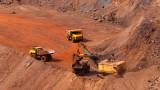 Ръждясалите основи на ралито на желязната руда