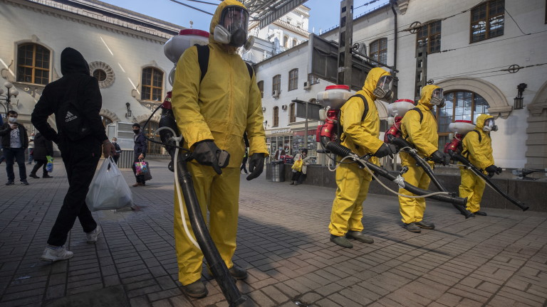 Москва разхлаби някои ограничителни мерки в борбата с коронавирус. За