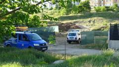 Откриха невзривена граната при изкопни работи в Благоевград