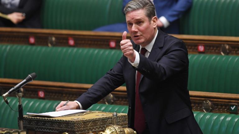 Лейбъристите искат блокада във Великобритания до 24 часа