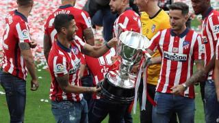 Суарес е категоричен: Оставам в Атлетико (Мадрид)