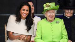 Защо кралицата е благодарна на Меган
