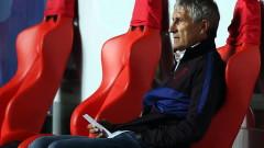 Кике Сетиен изненадващо не подаде оставка след грандиозния резил
