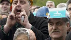"""Приключи днешният протест на работниците от """"Кремиковци"""""""