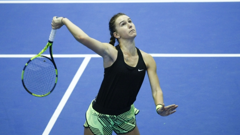 Гергана Топалова отпадна във втория кръг в Андижан