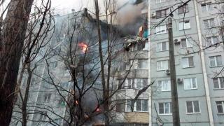 Взрив на газ срина крило на кооперация във Волгоград
