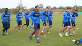 Левски поднови тренировки в Кипър