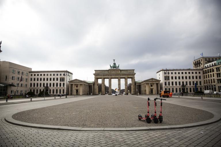 Бранденбургската врата, Берлин, Германия